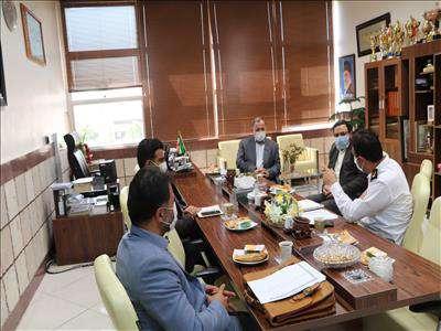 """برگزاری جلسه هماهنگی اجرای برنامههای هفتم مهرماه """"روز آتش نشانی و ایمنی"""""""