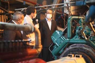 نخستین موتور ملی دوگانهسوز لکوموتیو در مازندران آزمایش شد