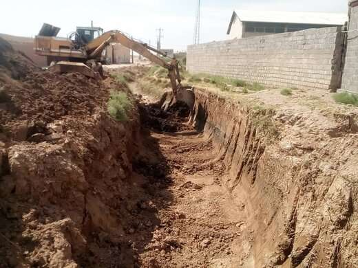 احداث کانال سنگی کوی صنعتی رود با ۵۰ درصد پیشرفت فیزیکی