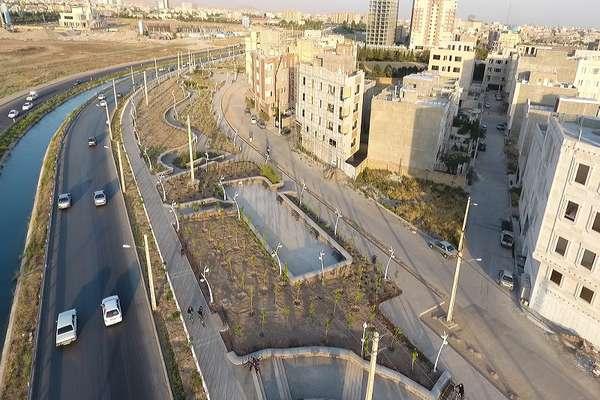 پروژه فاز سوم بوستان امام علی (ع) 28 درصد رشد فیزیکی داشته است
