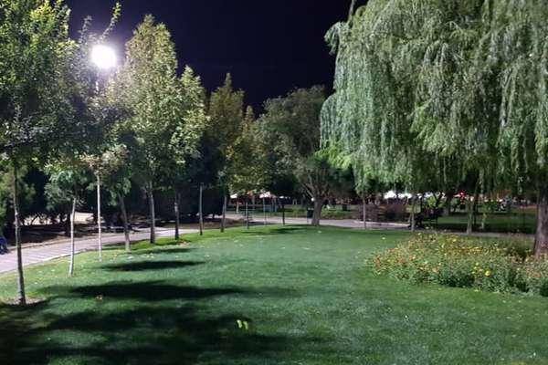 روشنایی بوستان الغدیر افزایش می یابد