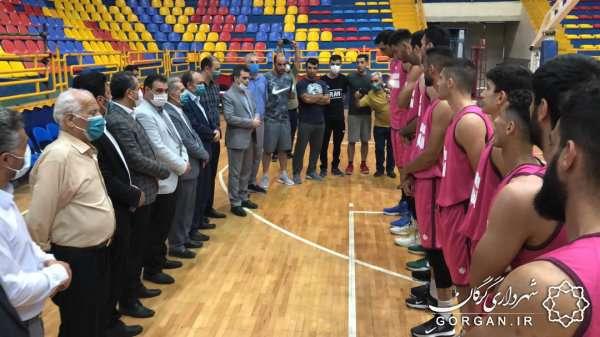آغاز تمرینات تیم بسکتبال شهرداری گرگان