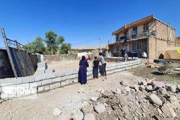 اتمام بازسازی ۳۲۳۱ واحد مسکونی سیل زده در شهرستان چگنی/توزیع ۱۴۴۳۱ تن سیمان رایگان