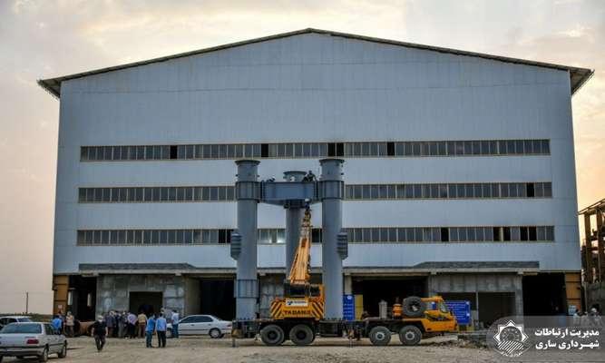 پیشرفت 70درصدی پروژه نیروگاه زباله سوز ساری