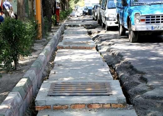بازسازی کانال آبرو ضلع جنوبی چهارراه فجر تا شریعتی به اتمام رسید