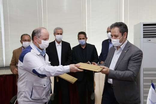 قرارداد نگهداری ناوگان قطار شهری تبریز با شرکت ایریکو امضا شد