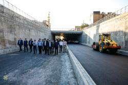 زیرگذر علی بن حمزه (ع) در مراحل نهایی افتتاح قرار دارد