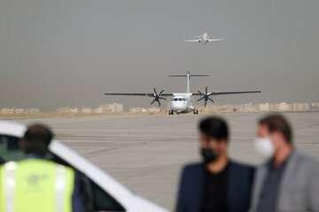 هواپیمای معراج مجبور به ۲ بار فرود اضطراری در مهرآباد شد