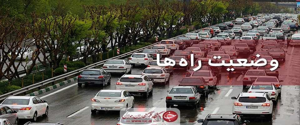 محدودیتهای ترافیکی جاده ها تا ۳۱ شهریور اعلام شد
