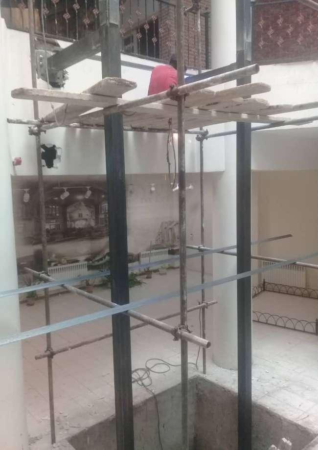 نصب آسانسور در موزه بازار و مشاغل تبریز