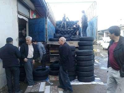 تاکسیرانان نگران تأمین لاستیک مورد نیاز خود به نرخ دولتی نباشند