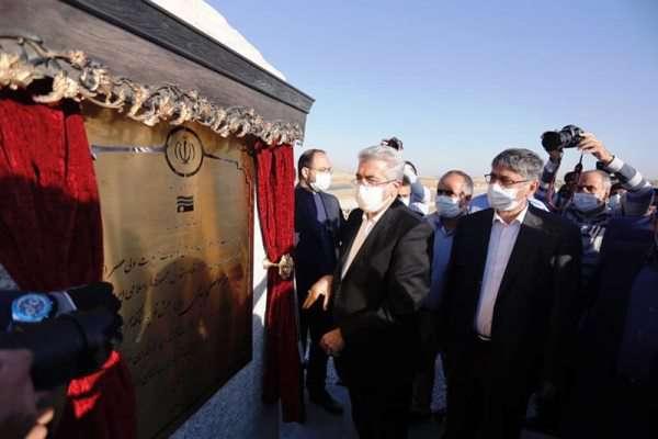 سد نعمتآباد در استان همدان با حضور وزیر نیرو افتتاح شد