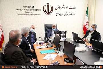 برگزاری نشست دوم کارگروه ستاد ویژه خوزستان در حوزه راه