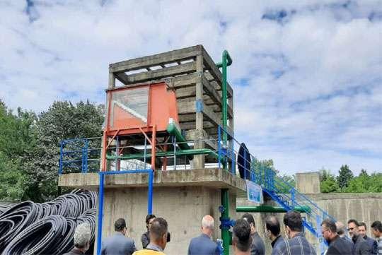 آغاز عملیات اجرایی نصب سازه خودهواده برای تاسیسات آبی شهر احمد سرگوراب
