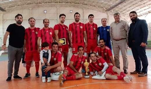 شهرداری منطقه ۲، قهرمان پنجمین دوره مسابقات فوتسال پاکبانان
