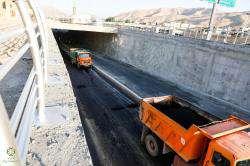 بالغ بر ۲ میلیون و ۲۰۰ هزار مترمربع معابر شیراز آسفالت شده است