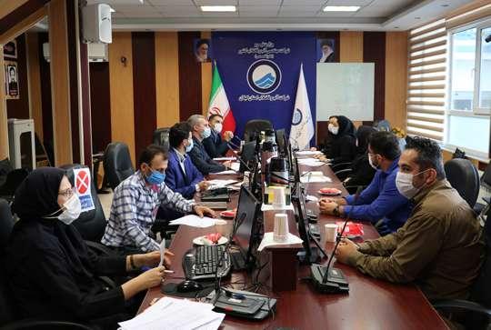 کارگاه آموزشی سامانه اطلاعات مکانی تحت وب طی سه روز در آبفای گیلان برگزار شد
