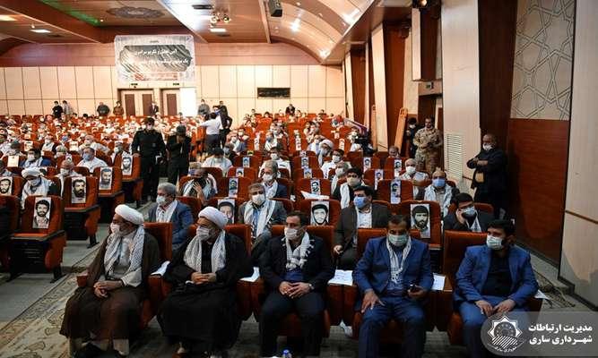 مراسم تجلیل از 100هزار پیشکسوت عرصه دفاع مقدس استان مازندران