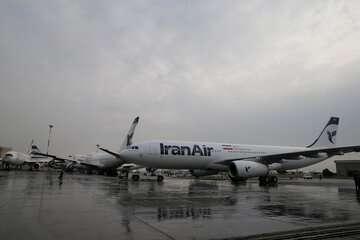 بویینگ ۷۴۷ باری ایران ایر با تعمیرات اساسی به پرواز بازگشت