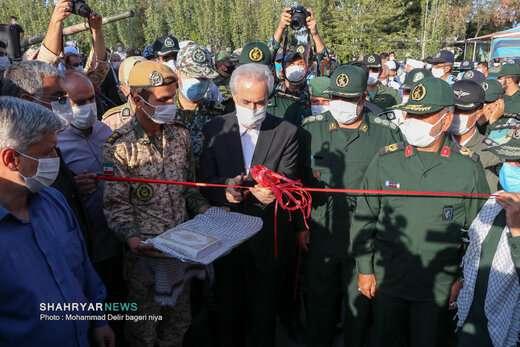 افتتاح نمایشگاه دستاوردهای دفاع مقدس و مقاومت تبریز