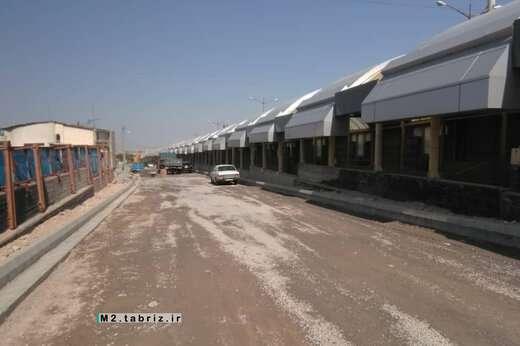اجرای عملیات اساسریزی مسیر انتهای رمپ جنوبی غربی پل اتحاد ملی