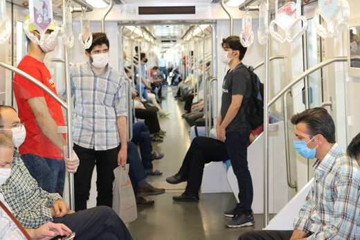 رعایت پروتکل های بهداشتی در مترو الزامی است