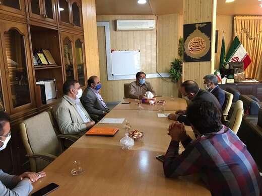 برگزاری اولین نشست تخصصی پدافند غیرعامل شهرداری تبریز در منطقه ۶