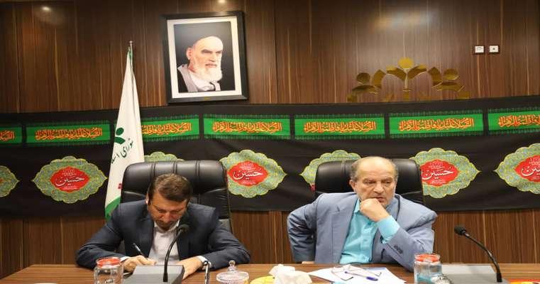 گزارش جلسه کمیسیون حمل و نقل و ترافیک شورای اسلامی شهر رشت