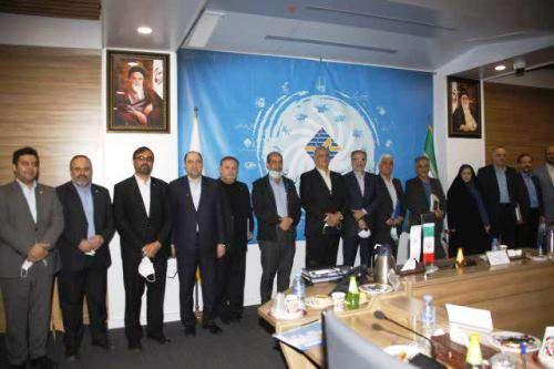 جلسه مجمع عمومی عادی سالیانه شرکت با حضور مهندس تقی زاده...