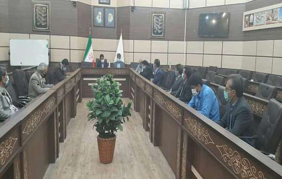 جلسه بررسی روند اجرای طرح اقدام ملی مسکن شهرستان مهریز