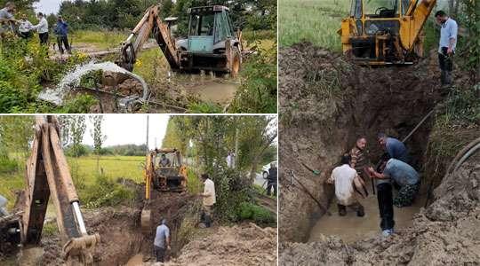 16 روستای فومن با 7000 اشتراک از فشار آب متعارف برخوردار شدند