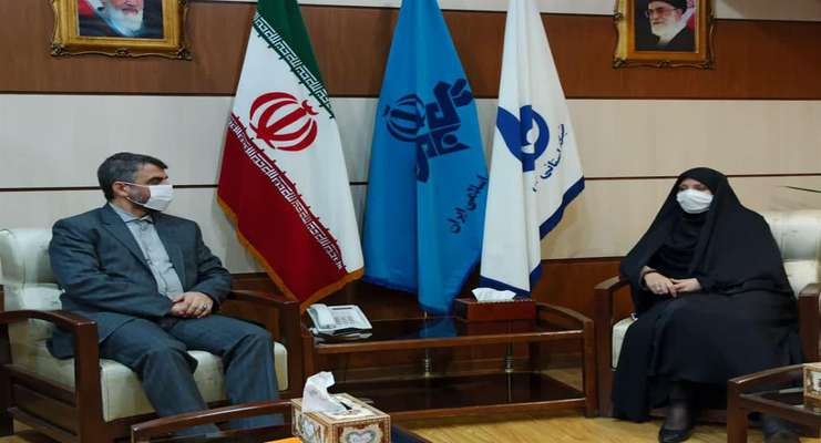 دیدار مدیر منطقه سه شهرداری رشت با مدیر کل صدا و سیمای استان گیلان