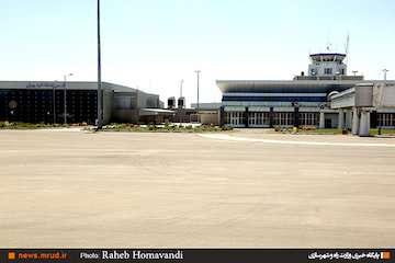 عملیات بهسازی و تجهیز فرودگاه اردبیل به سیستم ناوبری جدید/  برپایی نمایشگاه هفته دفاع مقدس در فرودگاه/ افتتاح باند دوم در دهه فجر امسال
