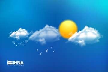بارش پراکنده و وزش باد در ارتفاعات البرز مرکزی