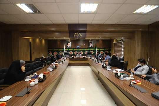 گزارش تصویری جلسه کمیسیون عمران و توسعه شهری شورای اسلامی شهر رشت