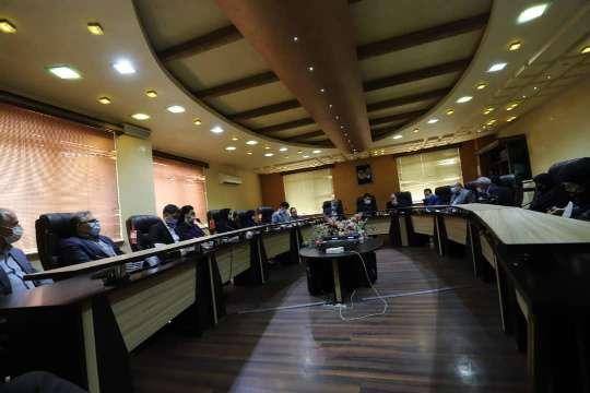 گزارش تصویری جلسه کمیسیون بهداشت ، محیط زیست و خدمات شهری شورای اسلامی شهر رشت