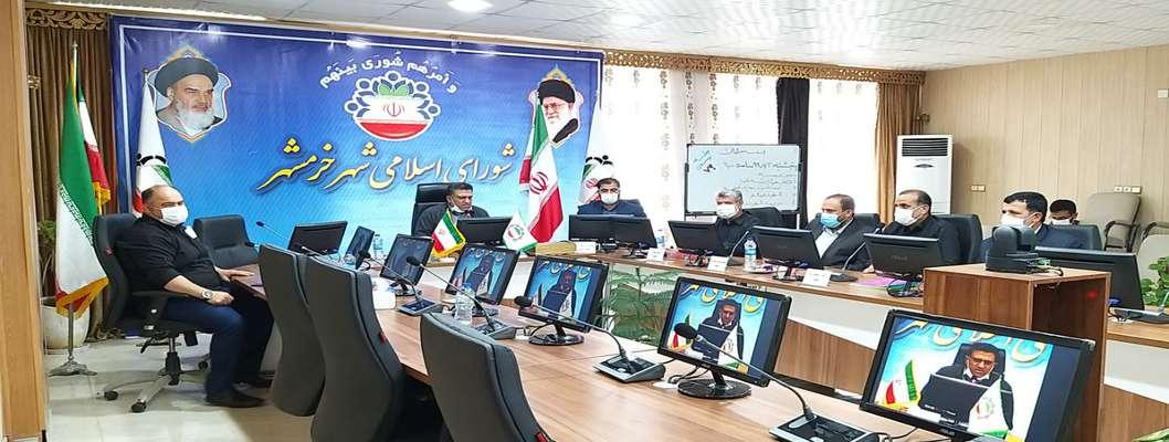 فاخر ربیعی فر با پنج رای اعضا شورا بعنوان رئیس شورای شهر خرمشهر انتخاب شد
