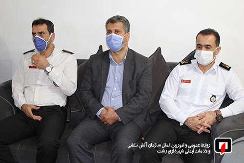 به مناسبت گرامیداشت هفته دفاع مقدس؛ دیدار با خانواده آتش نشان جانباز و ایثارگر شیمیایی شهر رشت /آتش نشانی رشت