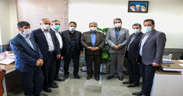 دیدار شهردار تبریز و مدیرکل جدید دفتر امور شهری و روستایی استانداری