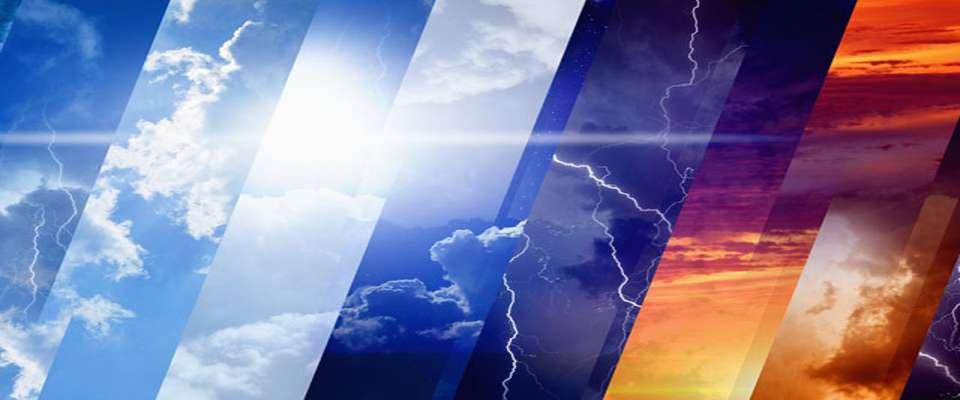 وضعیت آب و هوا در پنجم مهر؛ بارش پراکنده و رعد و برق در استانهای شمال وشمال غرب کشور