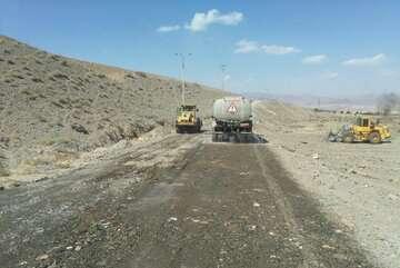 گام بلند آسفالت راههای روستایی در خراسان جنوبی
