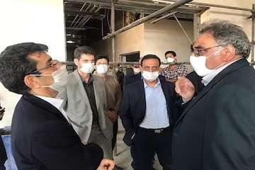 بازدید رئیس مرکز تحقیقات راه، مسکن و شهرسازی از پارک علمی - تحقیقاتی استان اصفهان