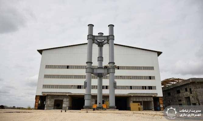 حرکت پرشتاب پروژه بزرگ نیروگاه زبالهسوز / نصب ستون های پیت