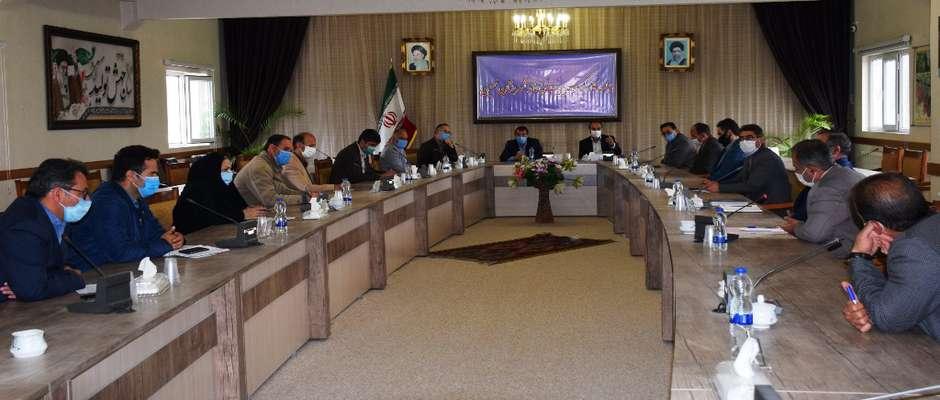 برگزاری اولین جلسه کارگروه مدیریت پسماند شهرستان نمین در سالجاری