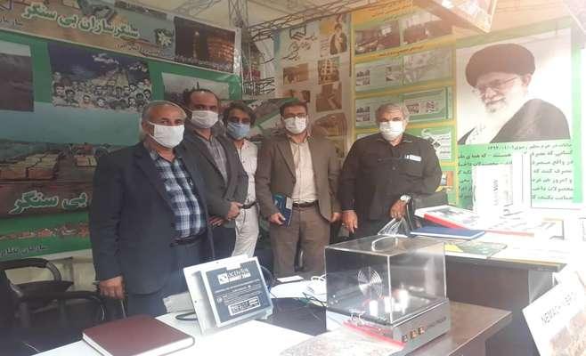 بازدید هیات رییسه سازمان نظام مهندسی ساختمان استان البرز از نمایشگاه دفاع مقدس