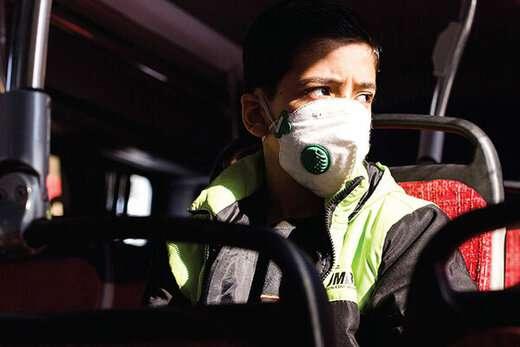 حضور ۶۵بازرس در ایستگاه های اتوبوس جهت یادآوری رعایت فاصله فیزیکی