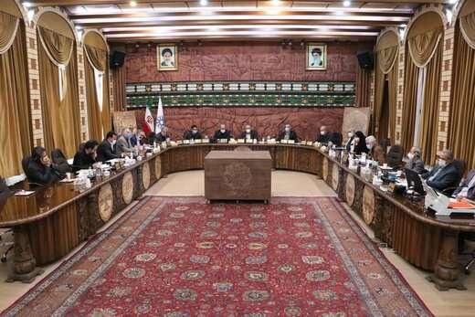 صد و نود و نهمین جلسه شورای شهر تبریز به صورت وبینار برگزار شد