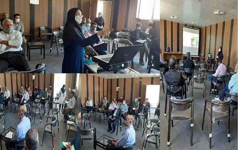 اجرای برنامه سیپا با حضور جوامع محلی تالاب اوان در استان قزوین