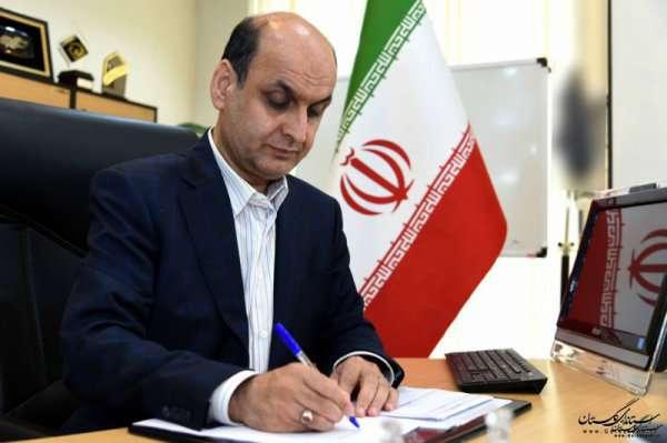 پیام تبریک استاندار گلستان به مناسبت روز آتش نشان