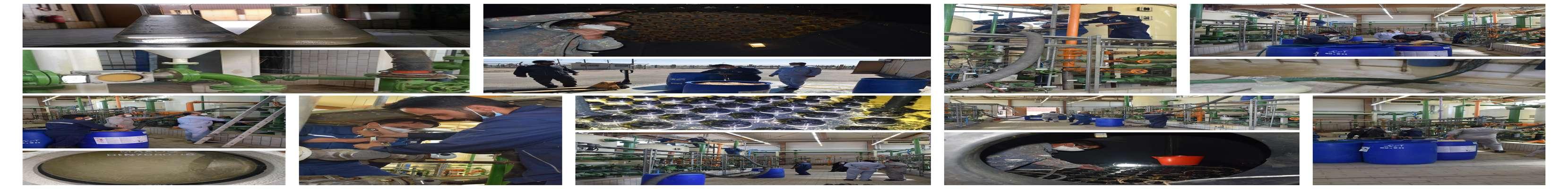 انتقال و بکواش رزین های آنیونی تصفیه آب نیروگاه طوس، توسط امور شیمی با همکاری امور مکانیک